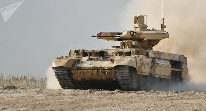 Xe chiến đấu hỗ trợ tăng BMPT-72 Terminator