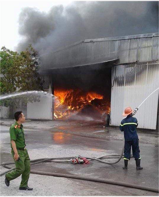 cháy nhà xưởng,hỏa hoạn,cháy nổ,Hải Phòng