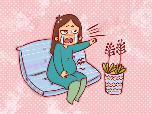 Khi cơn co thắt xảy ra, tử cung sẽ trở nên cứng, đồng thời bụng mẹ sẽ có cảm giác căng và kèm theo dấu hiệu đau.