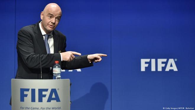 Đại hội FIFA lần 68, diễn ra tại Moscow, Nga.