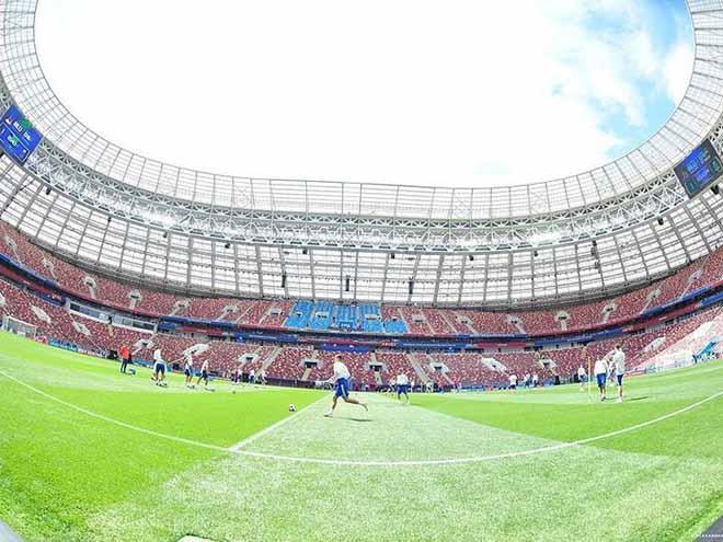 Bên trong sân vận động Luzhniki