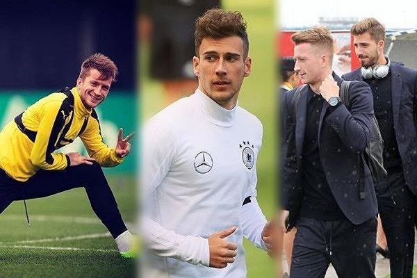 Dàn cầu thủ tuyển Đức đẹp trai ngời ngời 'đốn tim' fan nữ