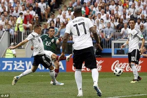 ĐẠI ĐỊA CHẤN WC 2018: Mexico phản đòn sắc lẹm, 'đập nát' đội hình toàn sao của đương kim vô địch Đức