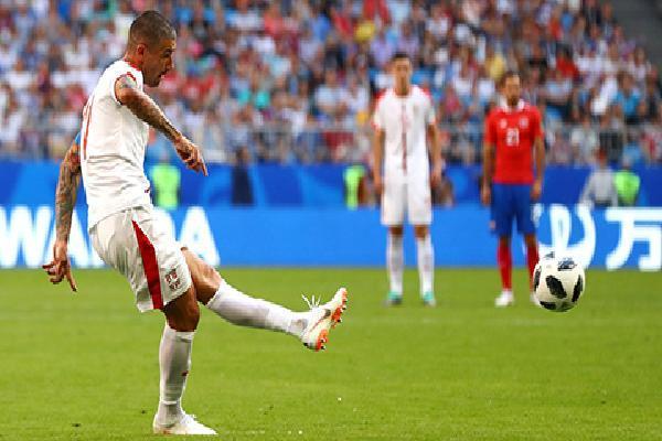 World Cup 2018 đã có số bàn thắng từ đá phạt bằng cả World Cup 2014
