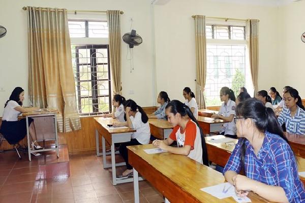 Nghệ An: Hơn 3.000 thí sinh cạnh tranh khốc liệt vào trường chuyên