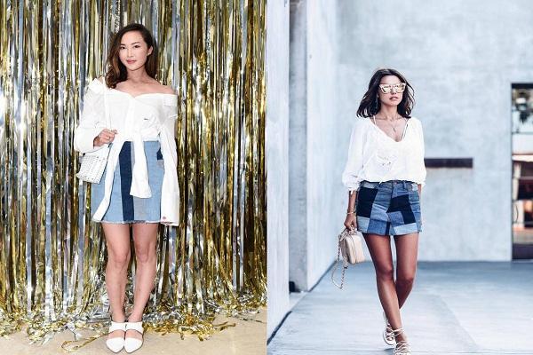 Chán kiểu jeans ngoan hiền, các cô gái trẻ thích chơi trội với loạt jeans khác người