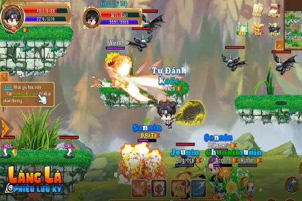 Làng Lá Phiêu Lưu Ký cùng Kiếm Linh Phi Tiên cho phép tải game, sẵn sàng ra mắt