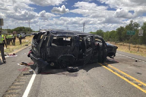 5 người Mỹ thiệt mạng khi chạy trốn cảnh sát biên giới