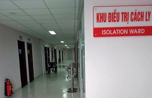 Khu vực cách ly bệnh nhân cúm A/H1N1 tại Bệnh viện Đa khoa Cần Thơ. Ảnh: Cửu Long.