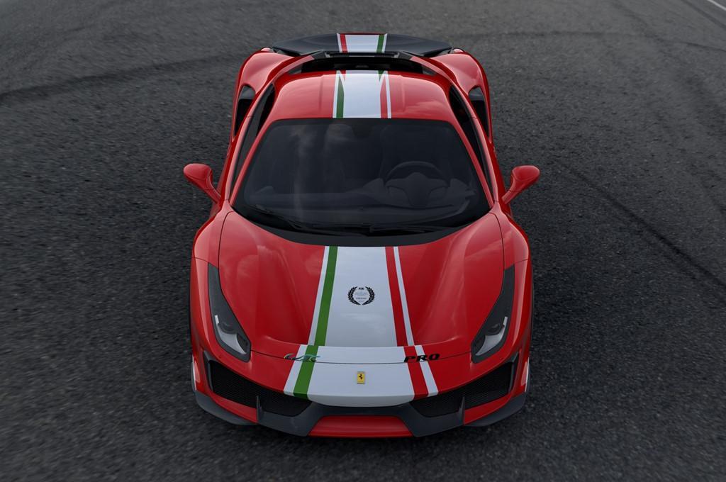 Sieu xe Ferrari 488 Pista ra mat phien ban dac biet hinh anh 3