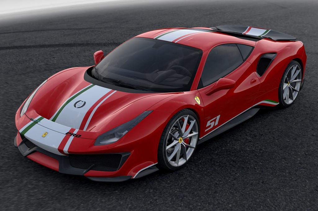 Sieu xe Ferrari 488 Pista ra mat phien ban dac biet hinh anh 2