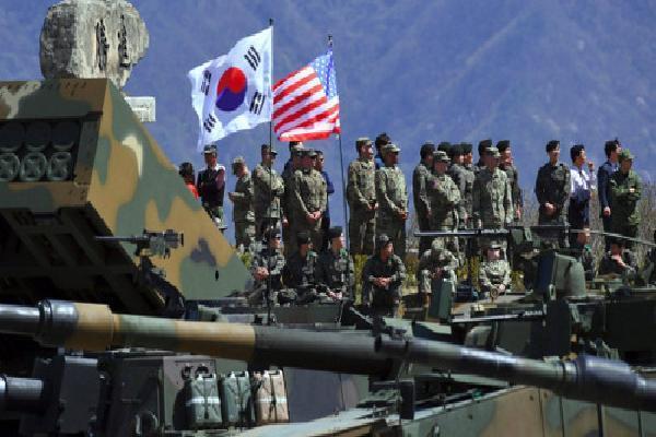 Mỹ - Hàn dừng tập trận chung trong tháng 8