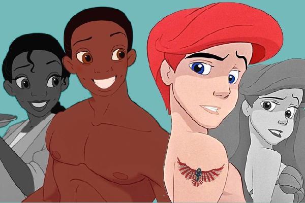 'Chuyển giới' nhân vật hoạt hình Disney - một thông điệp ý nghĩa về LGBT