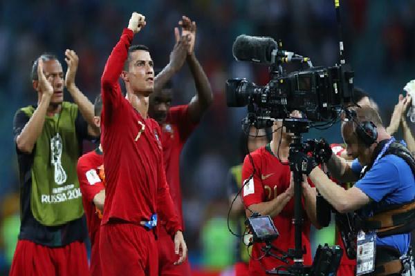 Ronaldo: 'Đây là trận đấu hay nhất của tôi ở World Cup'