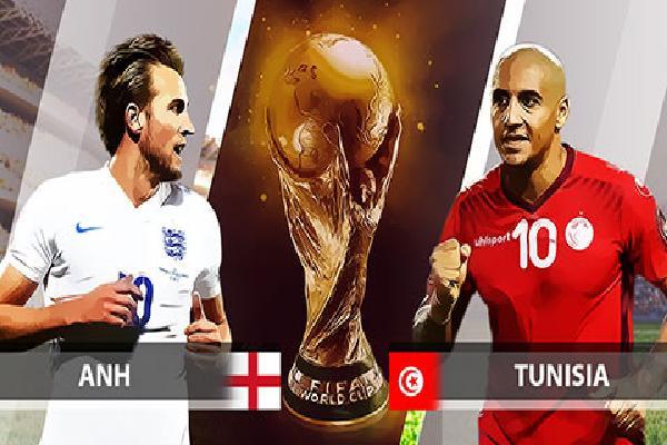 Nhận định & Bình luận trận Anh - Tunisia