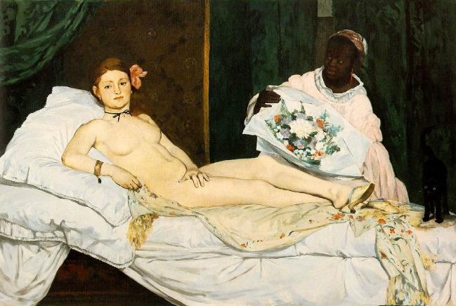 Bức Olympa của Edouard Manet