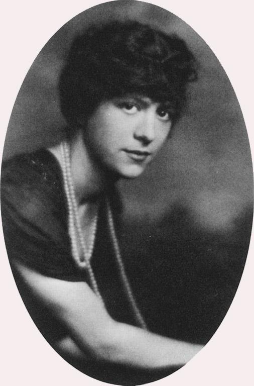 Romaine Brooks khi còn trẻ