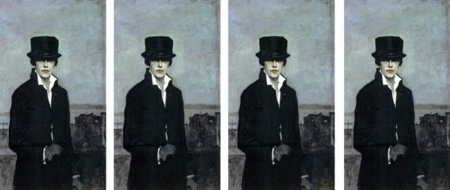 Bức tranh tự họa Romaine Brooks
