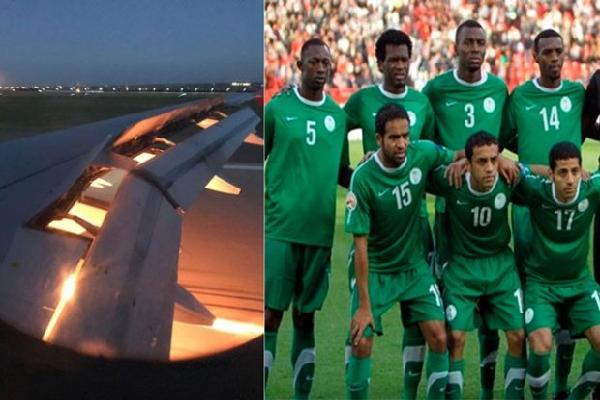 Nguyên nhân bất ngờ khiến máy bay chở ĐT Saudi Arabia bốc cháy trên không