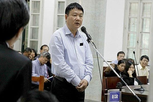 Ông Đinh La Thăng tiếp tục ra tòa trong vụ PVN mất 800 tỷ