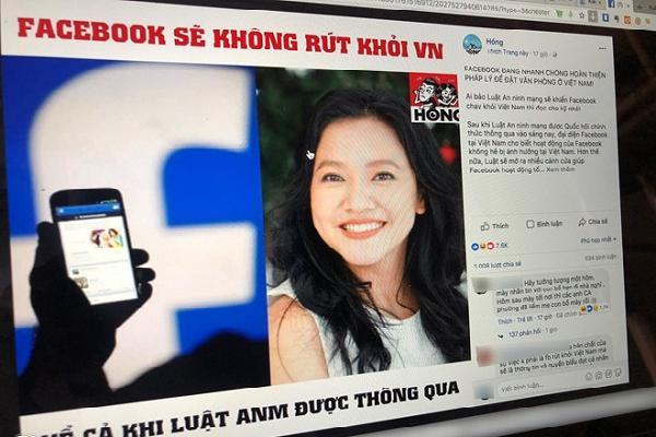 Giám đốc Facebook Việt Nam cũng là nạn nhân của tin giả