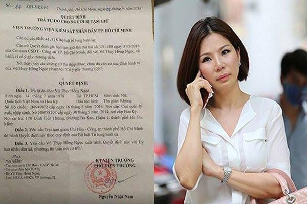 Khởi tố, bắt tạm giam vợ bác sĩ Chiêm Quốc Thái