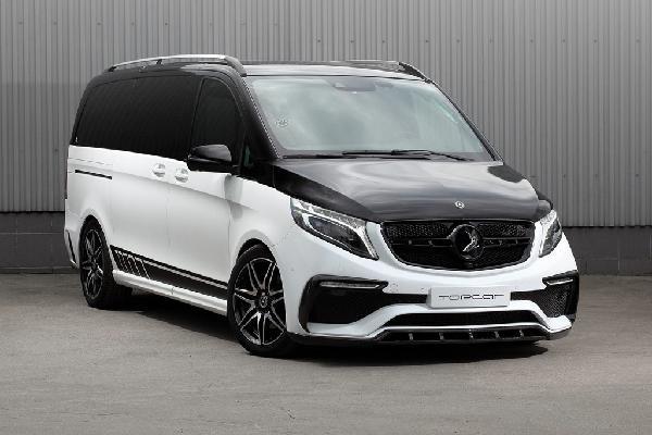 Mercedes V-Class lột xác lạ mắt của xưởng độ Nga