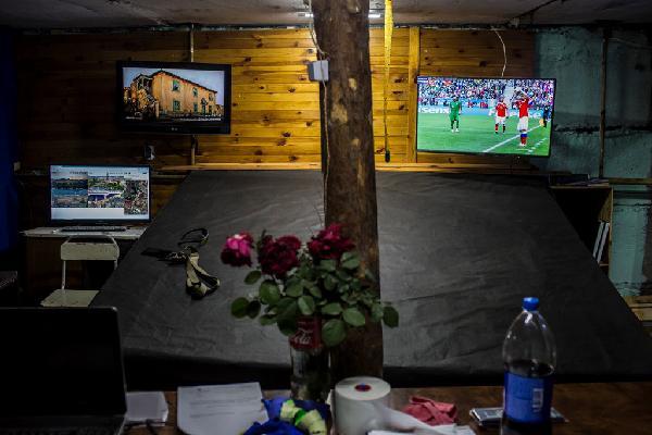 Xem World Cup tại vùng chiến sự ở Ukraine, nơi mạng sống bị đánh cược