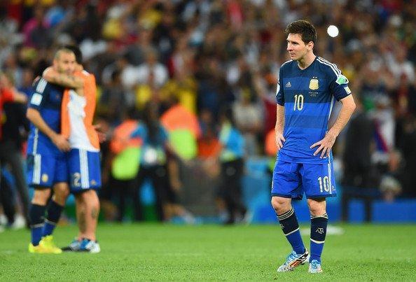 Sau thất bại trước ĐT Đức ở năm 2014, Lionel Messi tỏ ra rất quyết tâm.