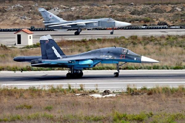 Tiêm kích đánh chặn 'gia bảo' KQ Nga tăng đột biến ở Syria: Răn đe hay nghênh chiến Mỹ?