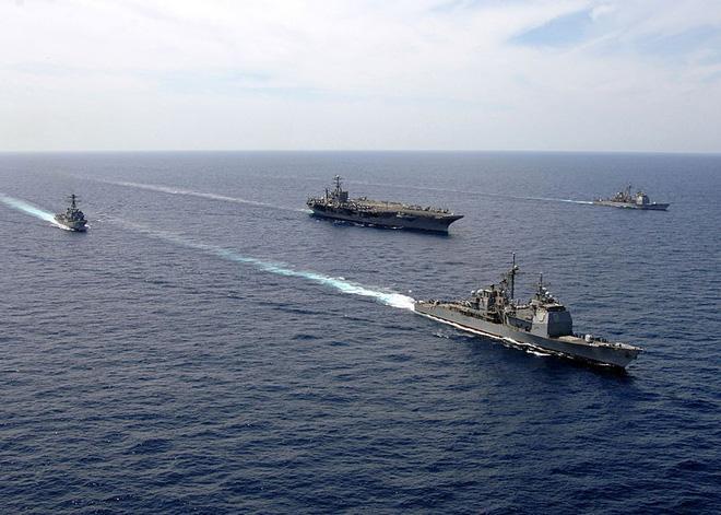 Nhóm tác chiến tàu sân bay USS Harry S. Truman trở lại hiện diện ở Đông Địa Trung Hải