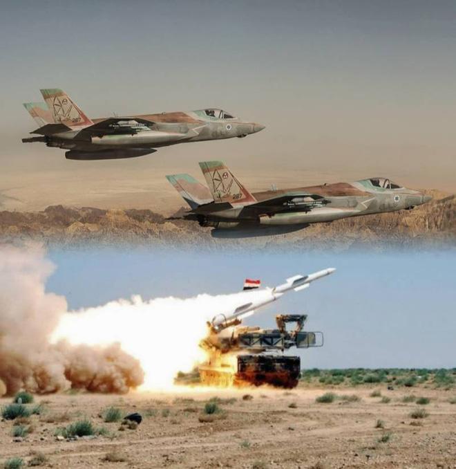 Tiêm kích tàng hình F-35 của Israel dường như đã qua mặt phòng không Syria một cách dễ dàng.