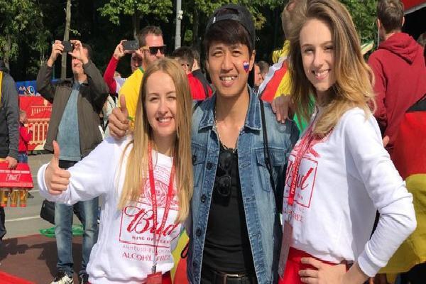 Du học sinh Việt tại Nga đang khiến bạn bè ở quê nhà ghen tỵ vì được đến tận nơi xem World Cup 2018