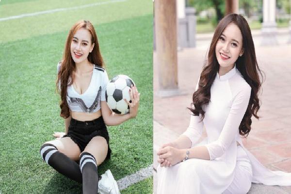 Trước trận Đức - Mexico: Hot girl Việt khiến bầu không khí trở nên nóng hơn