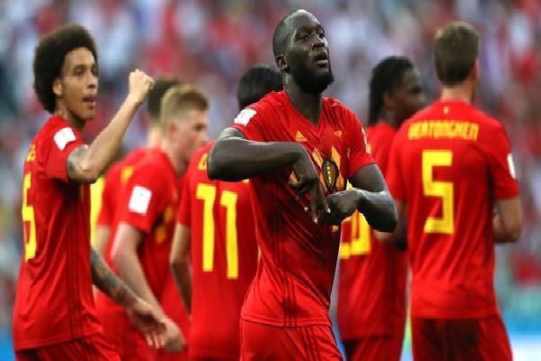 Lukaku lập cú đúp trong 7 phút, Bỉ 'đè bẹp' tân binh World Cup