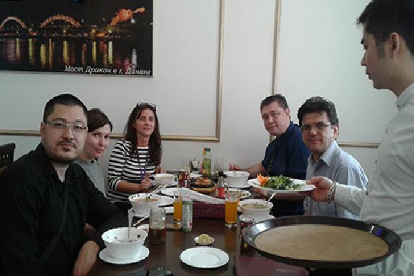 Hương vị Việt thu hút người Nga giữa lòng Moskva