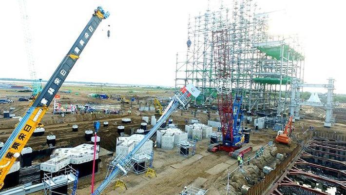 Dự án Sông Hậu 1 có tổng mức đầu tư khoảng 2 tỷ USD, đã bị chậm tiến độ khoảng 24 tháng.