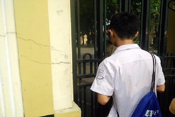 Hà Nội: Nhớ nhầm ngày, thí sinh lỡ hẹn thi tuyển sinh lớp 10
