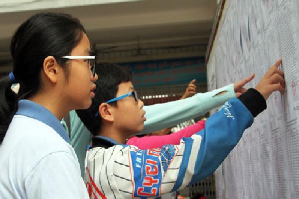 TP HCM công bố điểm thi vào lớp 6 trường chuyên Trần Đại Nghĩa