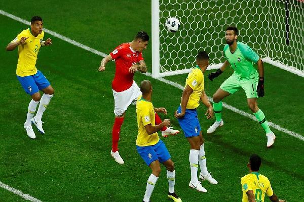 LĐBĐ Brazil gửi đơn khiếu nại lên FIFA vì phải nhận 'bàn thua oan' trước Thụy Sỹ
