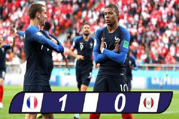 Pháp 1-0 Peru: Mbappe đưa Les Bleus vào vòng 1/8