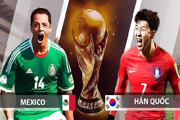 Nhận định bóng đá Mexico vs Hàn Quốc, 22h00 ngày 23/6: El Tri xơi tái kim chi