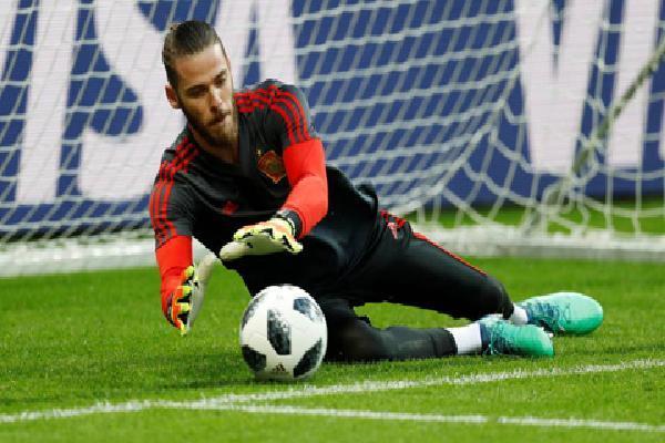De Gea chưa một lần cứu thua thành công tại World Cup 2018