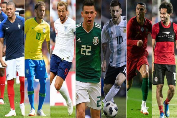 5 đội bóng đắt giá nhất World Cup 2018
