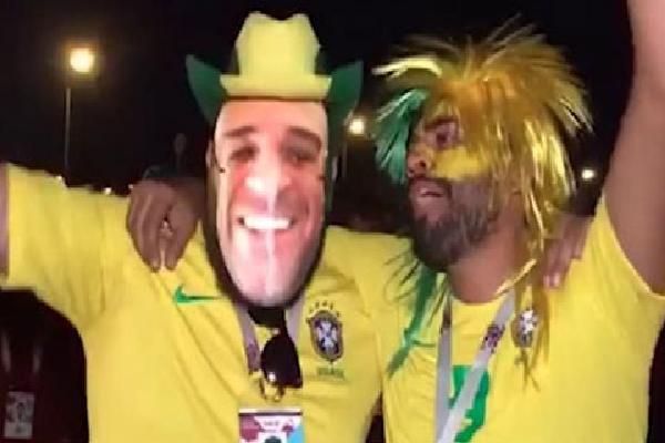 Tuyển Đức bị loại, fan Brazil háo hức ăn mừng
