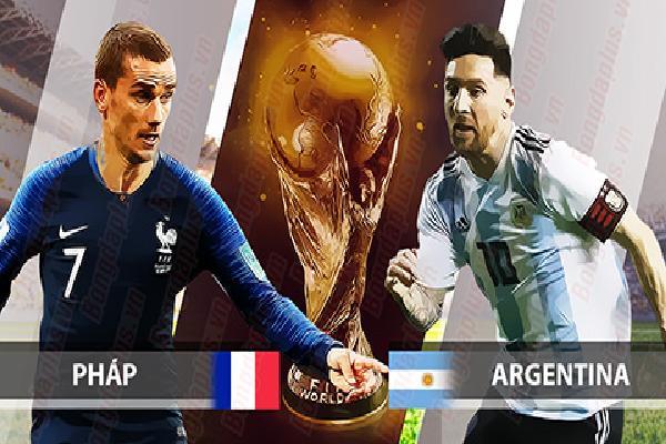 Nhận định & Bình luận trận Pháp - Argentina