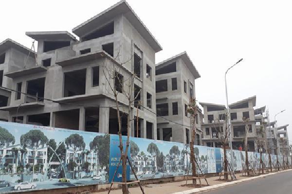 26 biệt thự tại thủ đô xây xong thô mới xin giấy phép