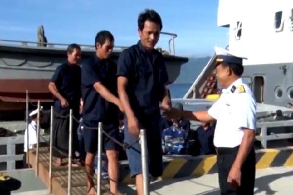 31 ngư dân gặp nạn khi tàu chìm ở Trường Sa đã về bờ an toàn