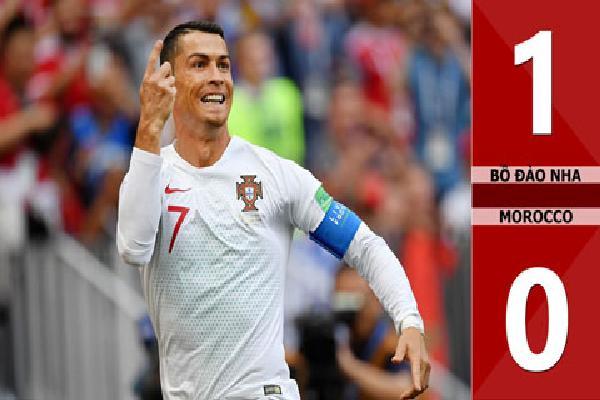 Bồ Đào Nha 1-0 Morocco (Bảng B - World Cup 2018)