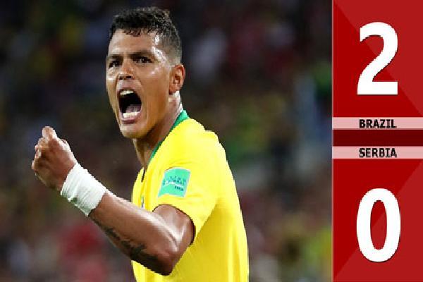Brazil 2-0 Serbia (Bảng E - World Cup 2018)